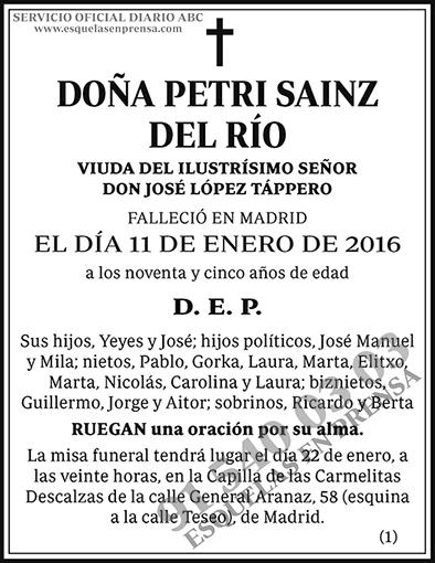 Petri Sainz del Río